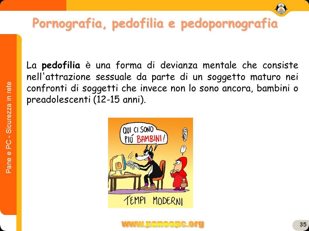 Pornografia, pedofilia e pedopornografia