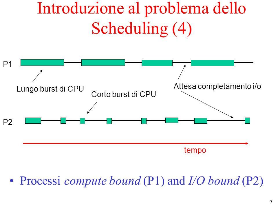 Introduzione al problema dello Scheduling (4)