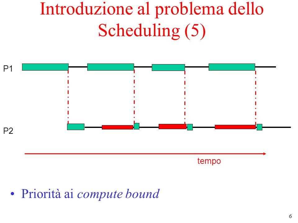 Introduzione al problema dello Scheduling (5)