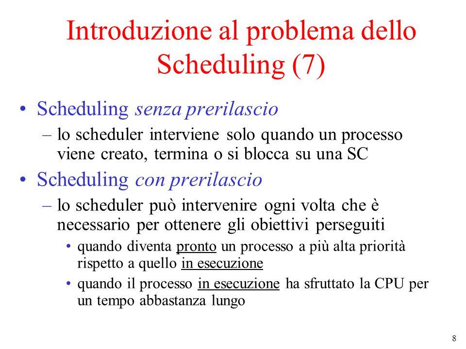 Introduzione al problema dello Scheduling (7)
