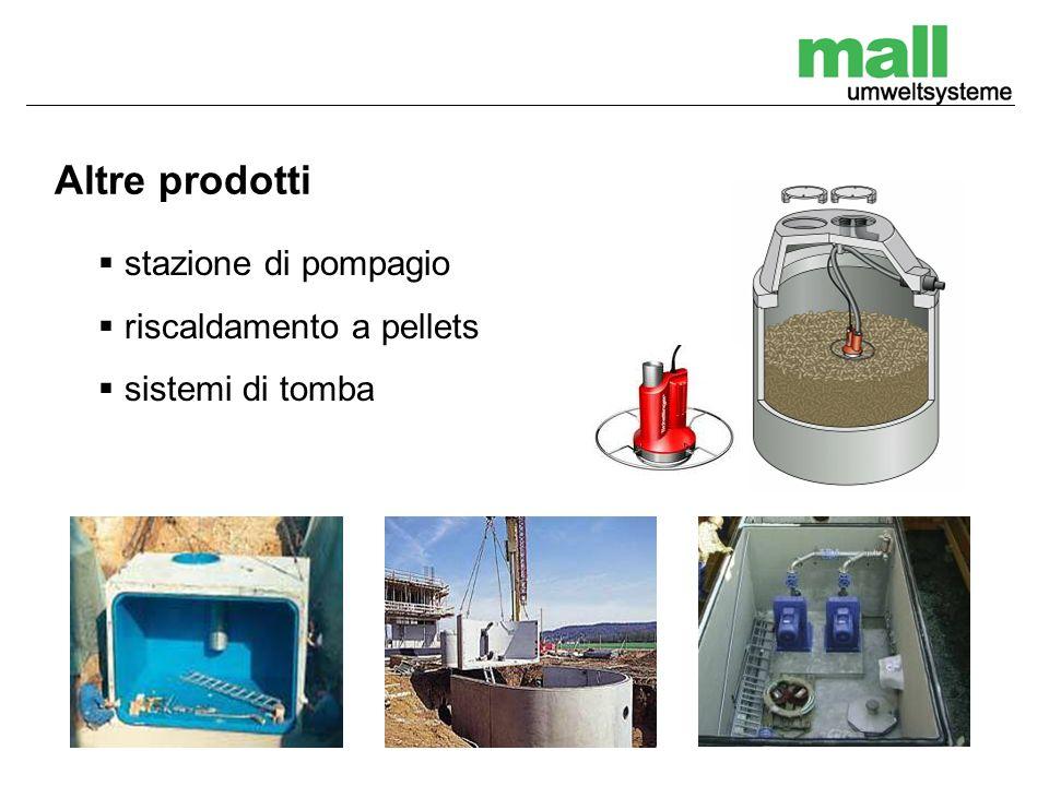 Altre prodotti stazione di pompagio riscaldamento a pellets