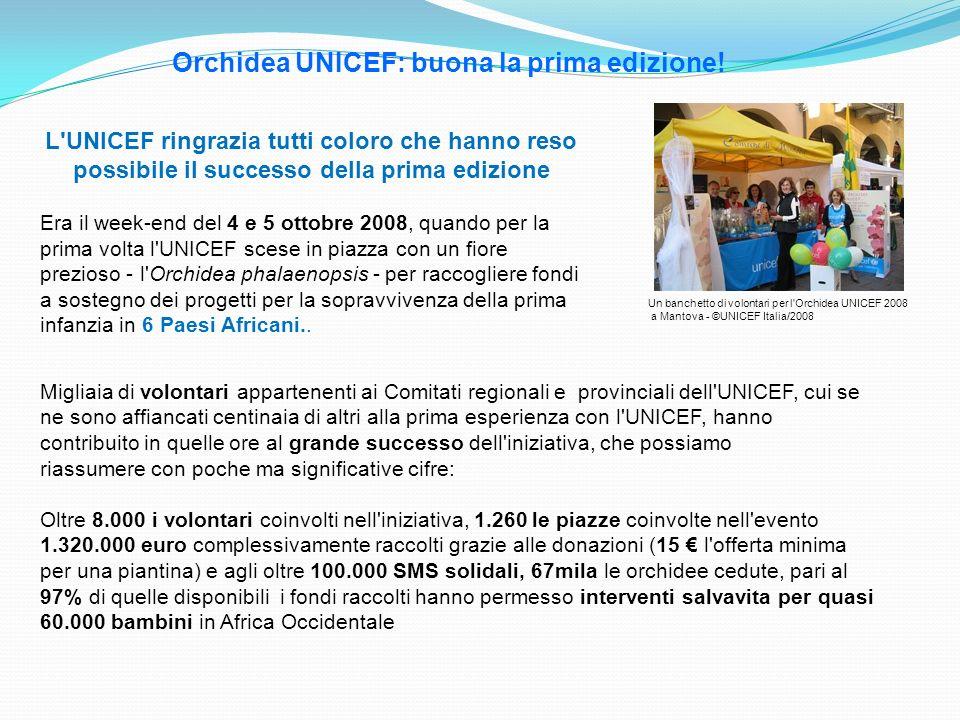 Orchidea UNICEF: buona la prima edizione!