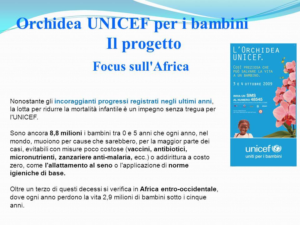 Orchidea UNICEF per i bambini Il progetto