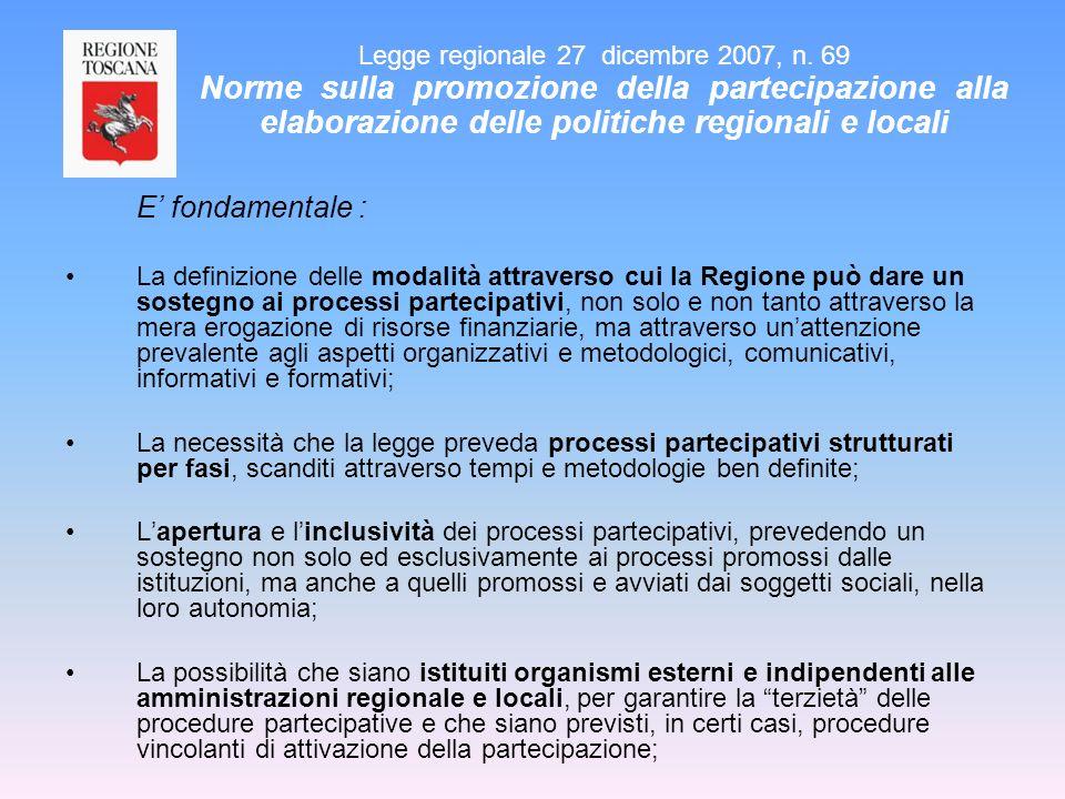 Legge regionale 27 dicembre 2007, n
