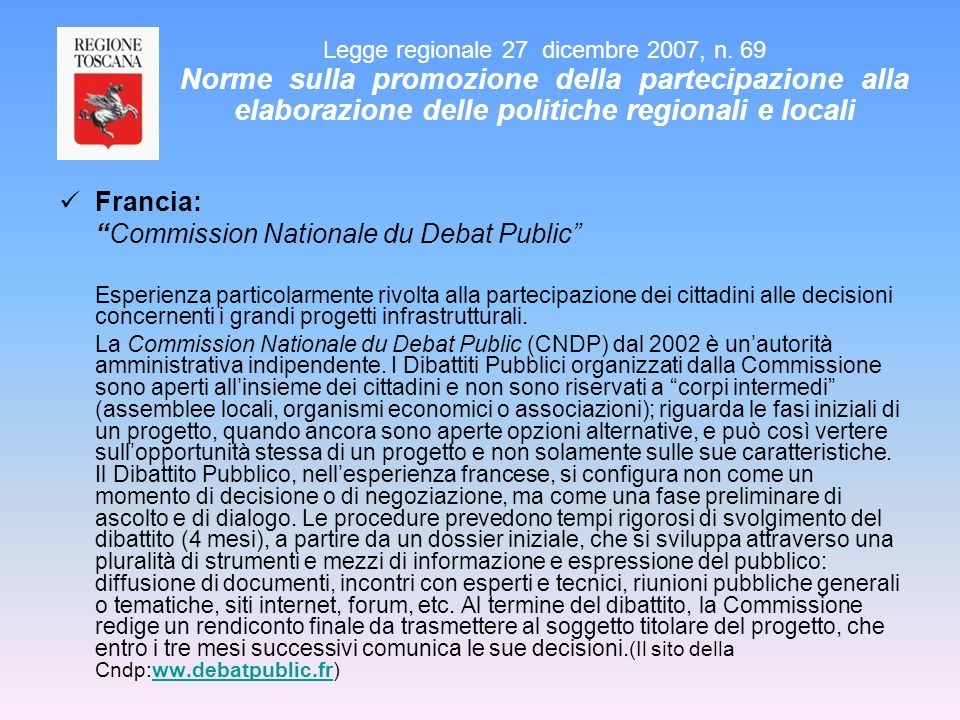 Commission Nationale du Debat Public
