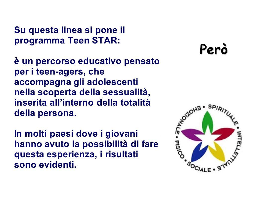 Però Su questa linea si pone il programma Teen STAR: