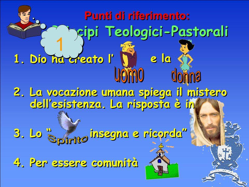 Punti di riferimento: Principi Teologici-Pastorali