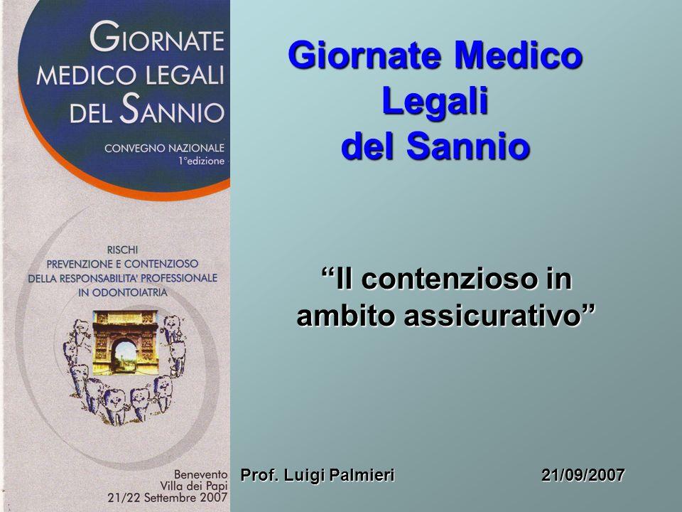 Giornate Medico Legali del Sannio