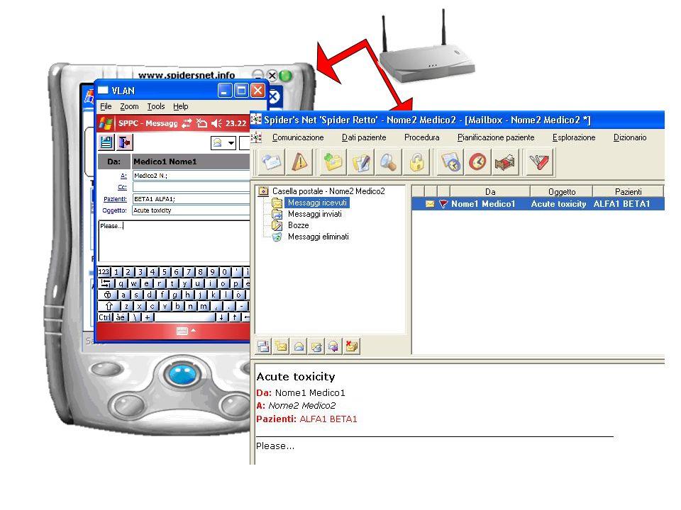 Spider's Net integra un e-mail system, utilizzabile su pc e palmare