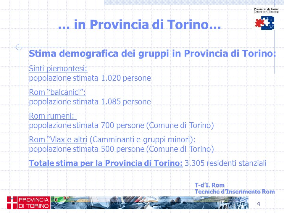 … in Provincia di Torino…