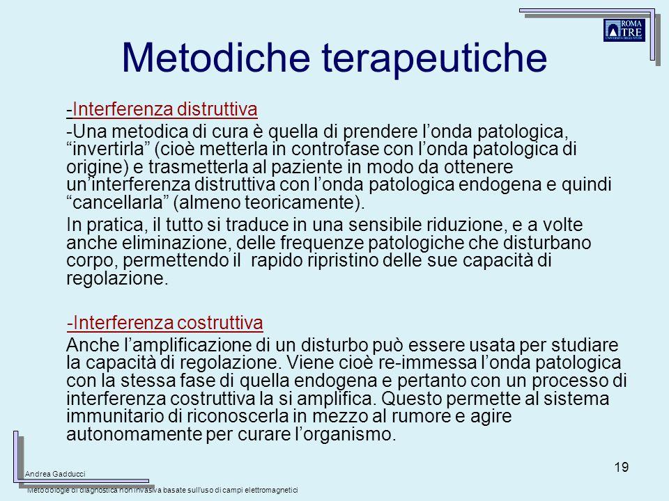 Metodiche terapeutiche