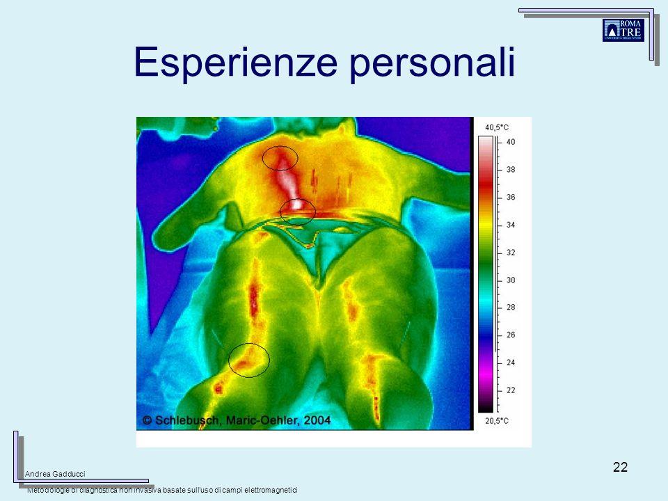 Esperienze personali Andrea Gadducci