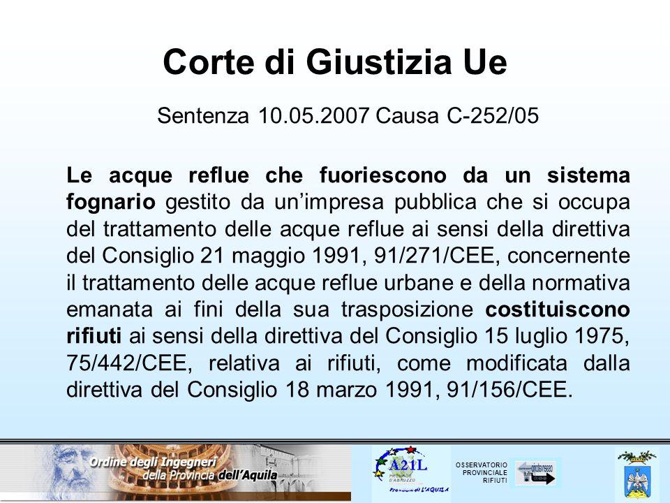 Corte di Giustizia Ue Sentenza 10.05.2007 Causa C‑252/05
