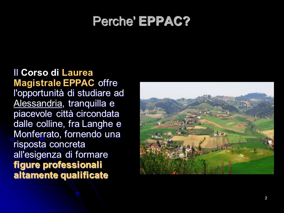 Perche EPPAC
