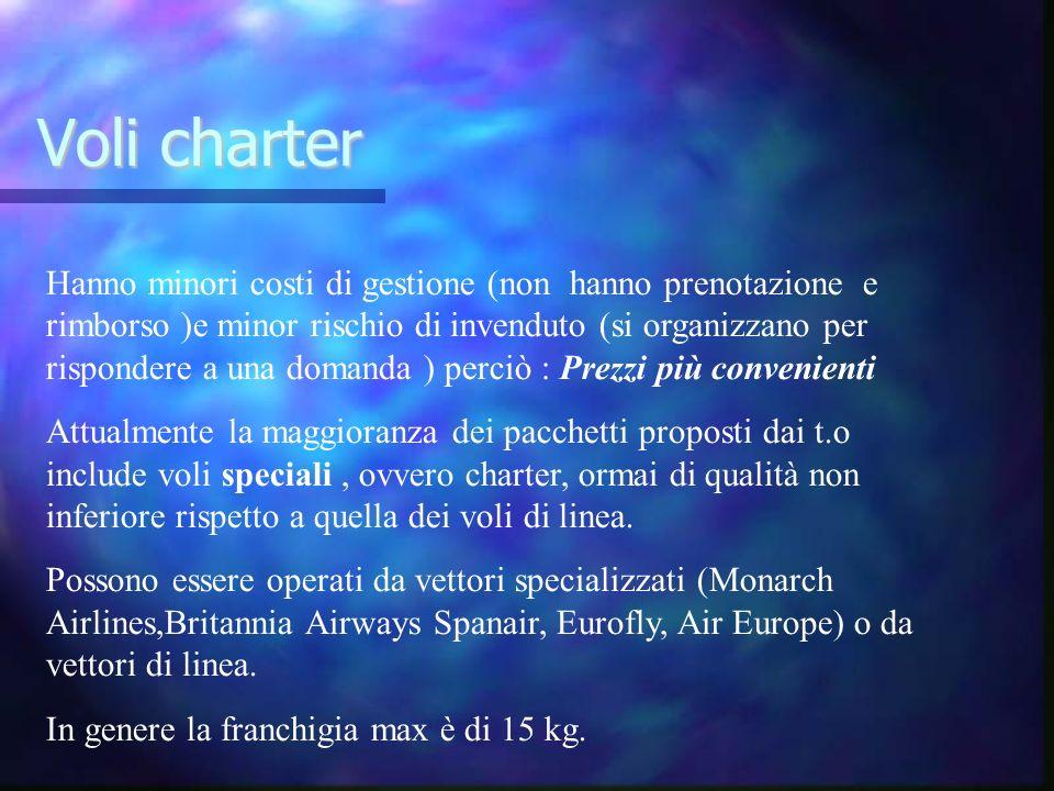 Voli charter