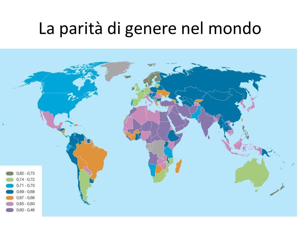 La parità di genere nel mondo