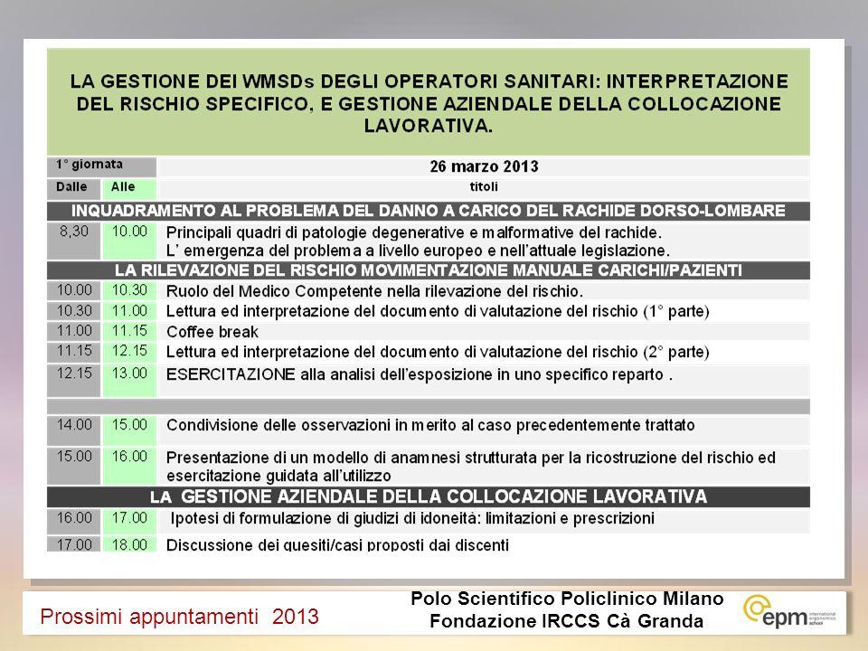 Polo Scientifico Policlinico Milano Fondazione IRCCS Cà Granda