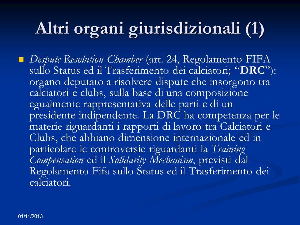 Altri organi giurisdizionali (1)