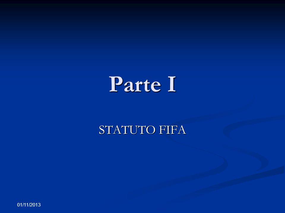 Parte I STATUTO FIFA 22/03/2017