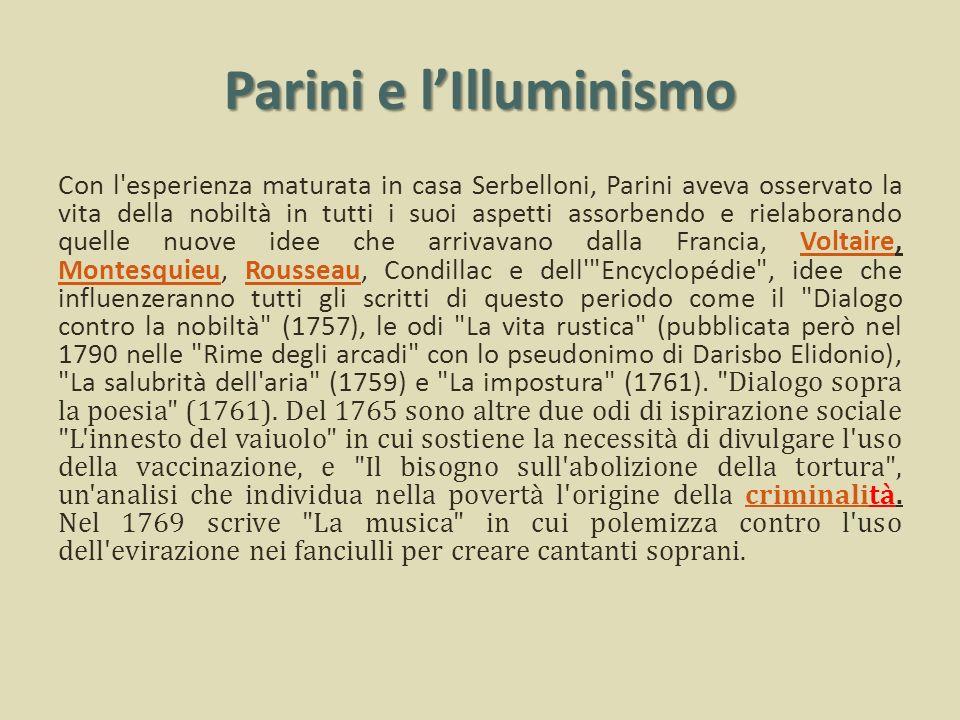 Parini e l'Illuminismo