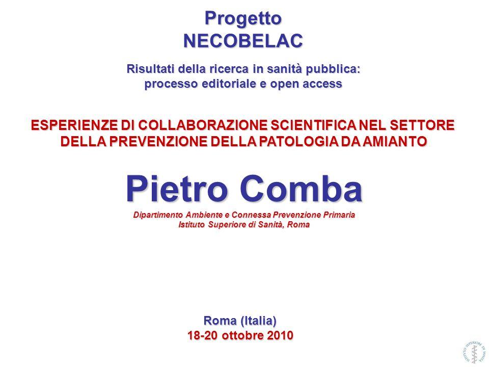 Pietro Comba Progetto NECOBELAC