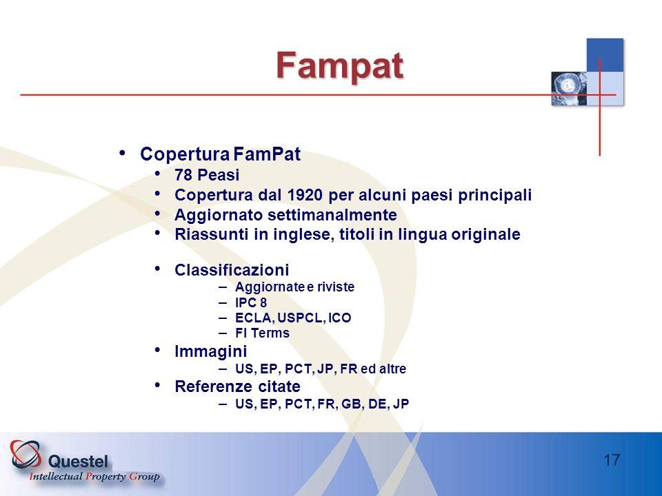 Fampat Copertura FamPat 78 Peasi