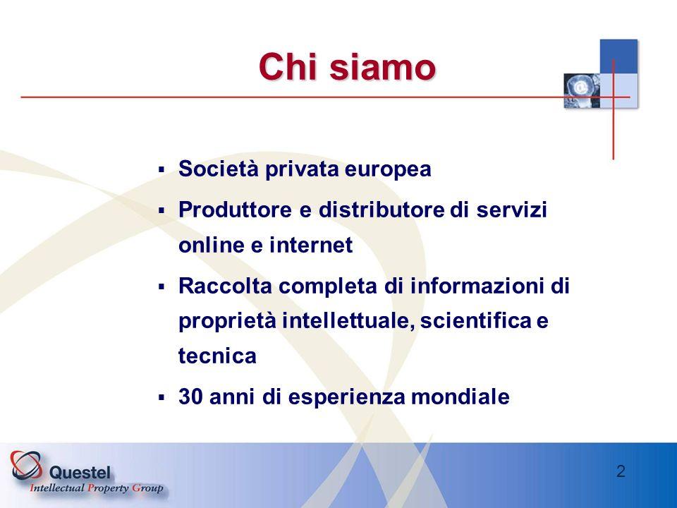 Chi siamo Società privata europea