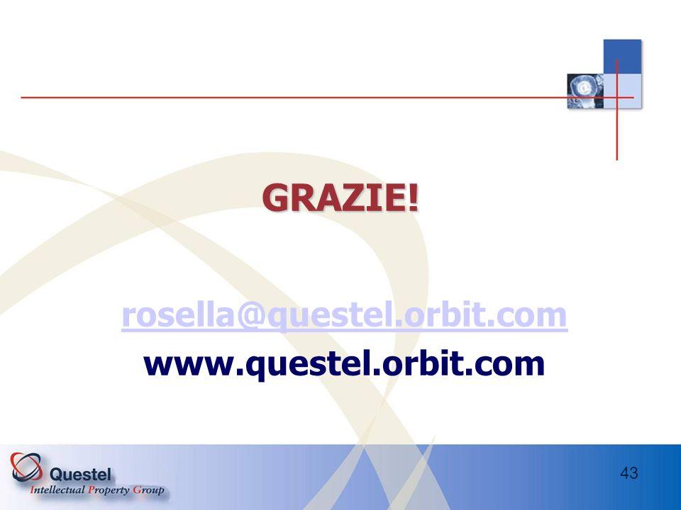 rosella@questel.orbit.com www.questel.orbit.com