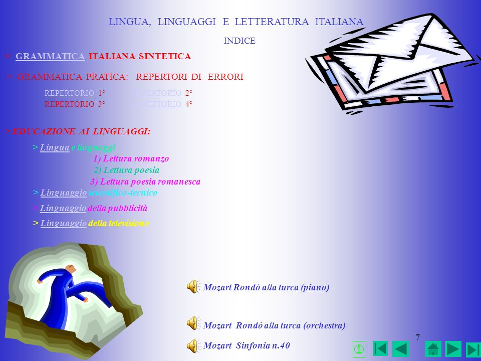 LINGUA, LINGUAGGI E LETTERATURA ITALIANA