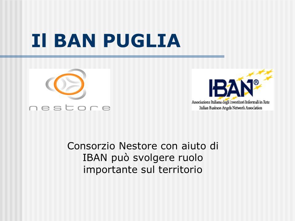 Il BAN PUGLIA Consorzio Nestore con aiuto di IBAN può svolgere ruolo importante sul territorio