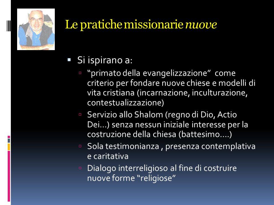 Le pratiche missionarie nuove