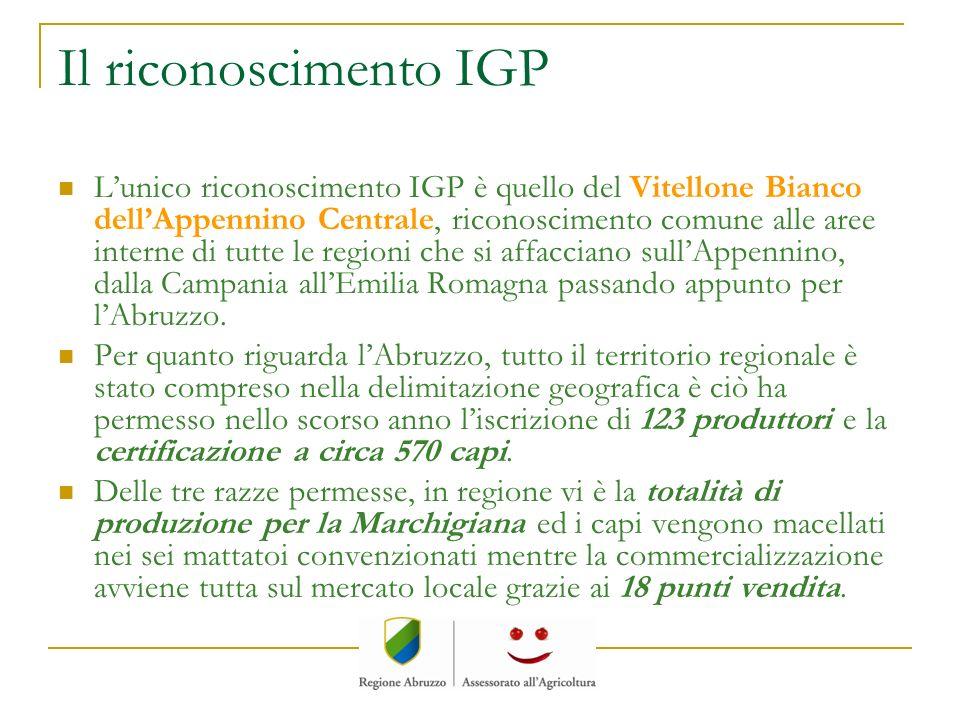 Il riconoscimento IGP