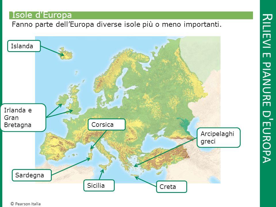Rilievi e pianure d europa