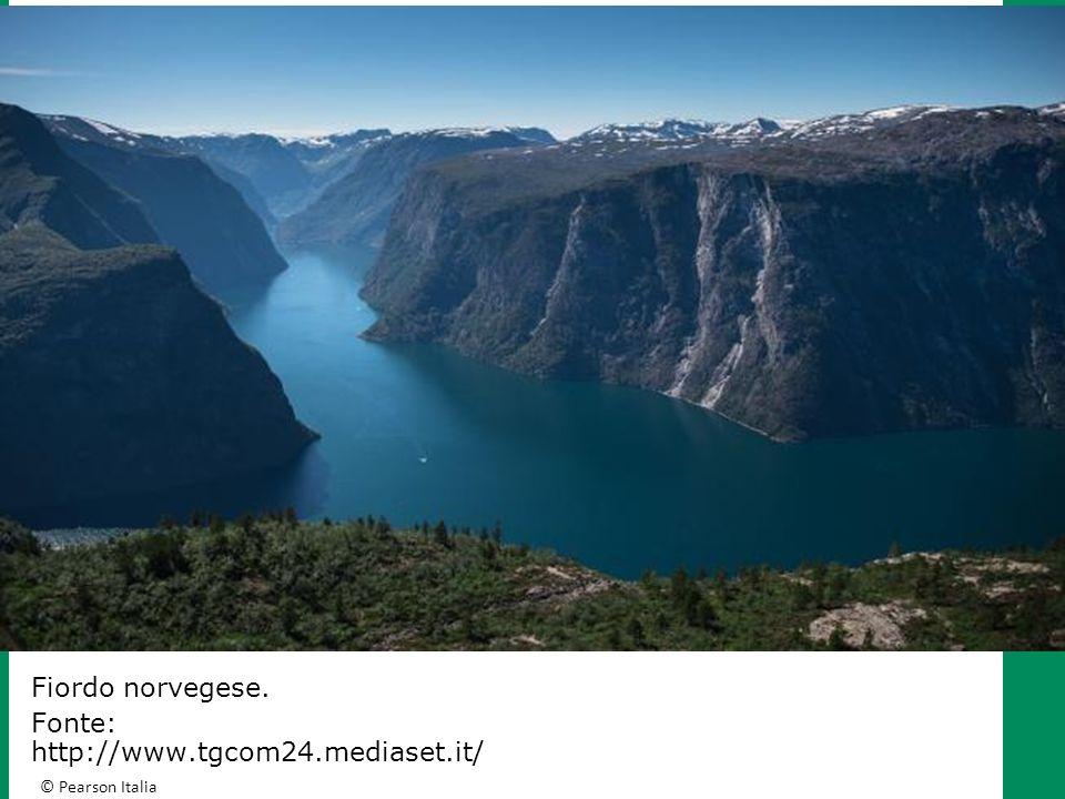 Fiordo norvegese. Fonte: http://www.tgcom24.mediaset.it/