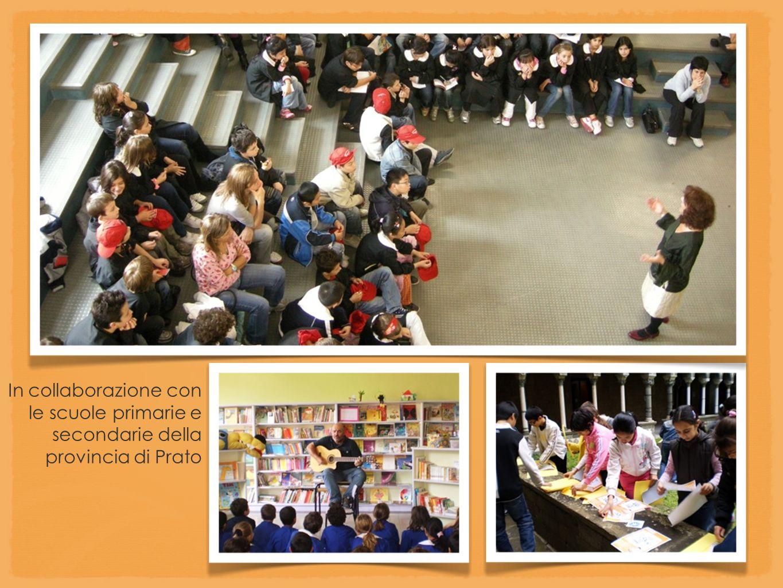 In collaborazione con le scuole primarie e secondarie della provincia di Prato.