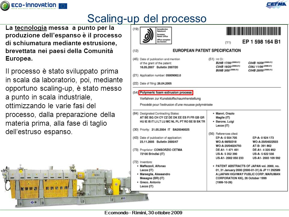 Scaling-up del processo