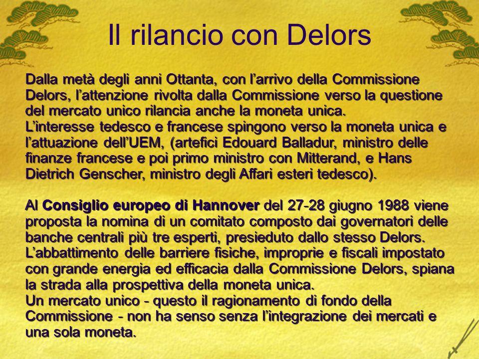 Il rilancio con Delors