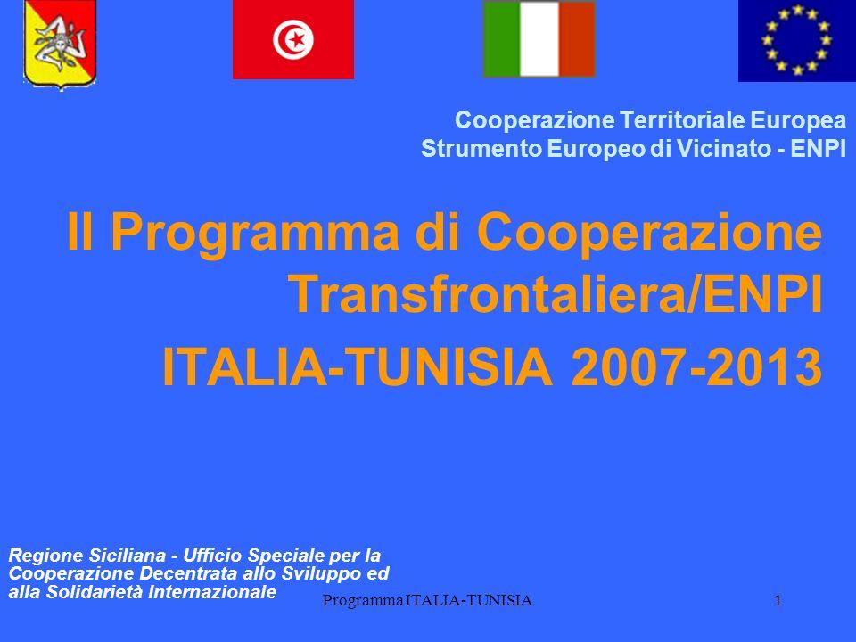 Cooperazione Territoriale Europea Strumento Europeo di Vicinato - ENPI