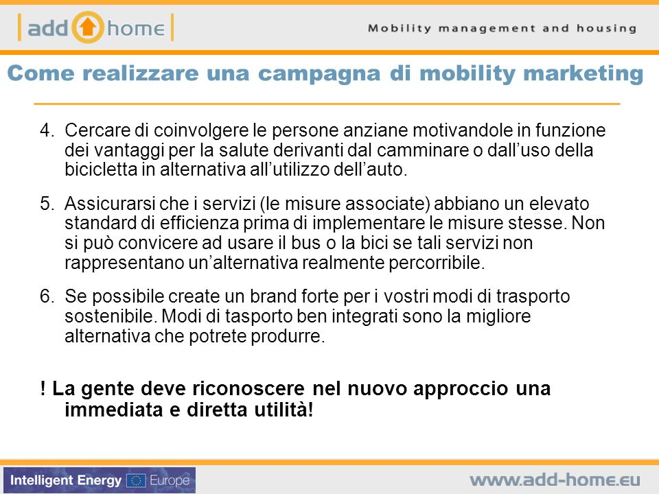 Come realizzare una campagna di mobility marketing