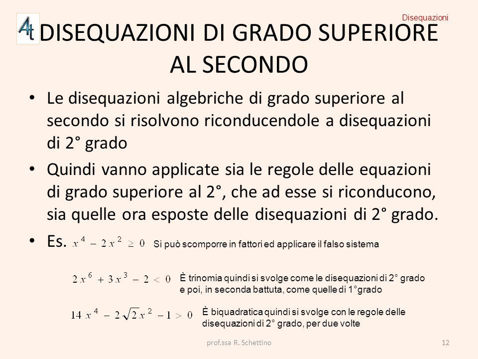 Disequazioni segno di un trinomio e disequazioni di 2 for Problemi di primo grado a due incognite esercizi