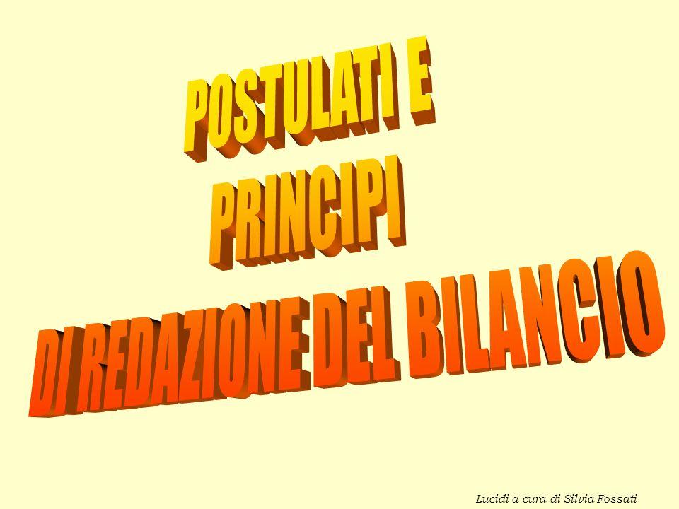 DI REDAZIONE DEL BILANCIO