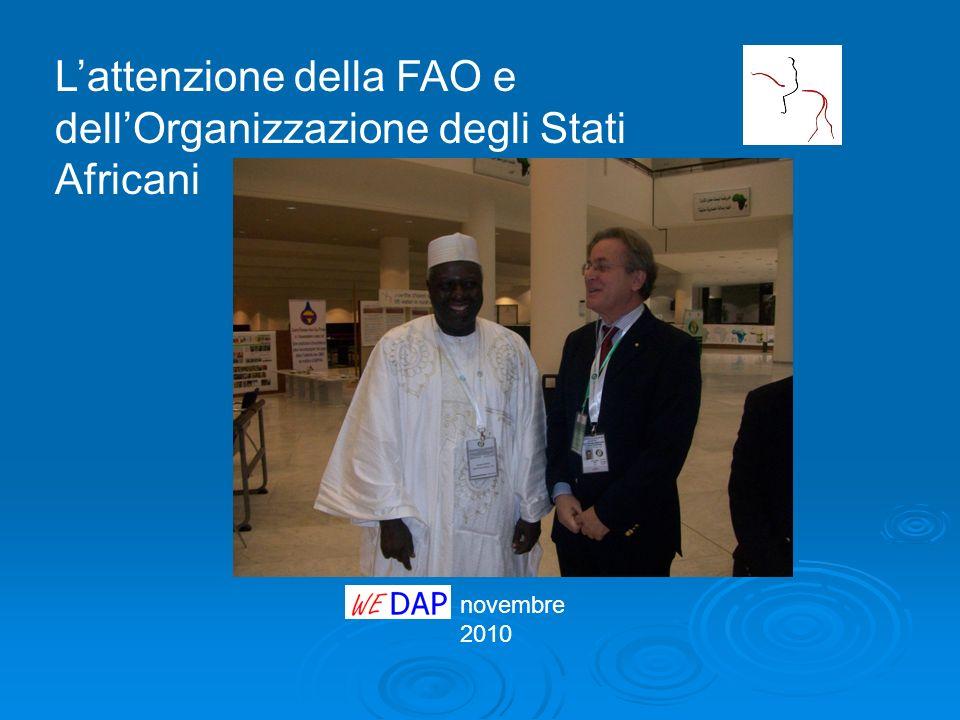 L'attenzione della FAO e dell'Organizzazione degli Stati Africani