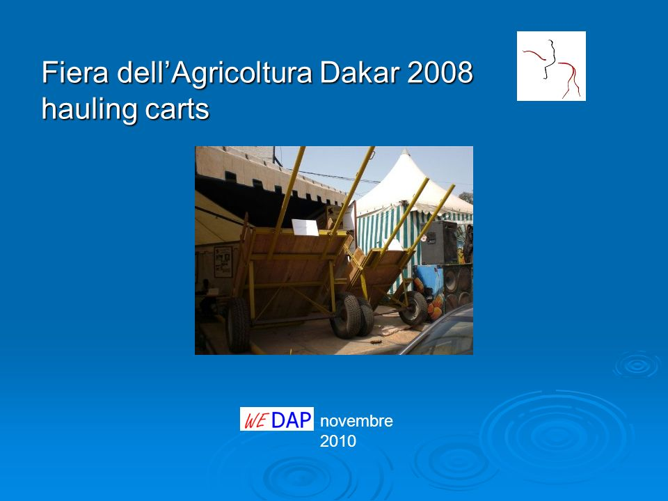 Fiera dell'Agricoltura Dakar 2008 hauling carts