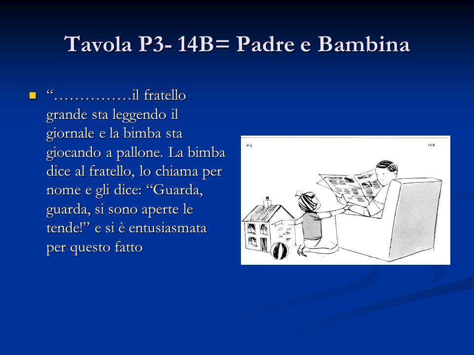 Tavola P3- 14B= Padre e Bambina