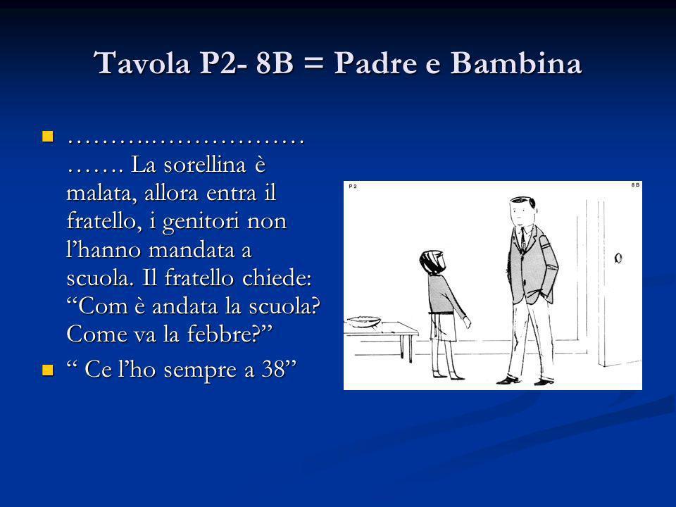 Tavola P2- 8B = Padre e Bambina