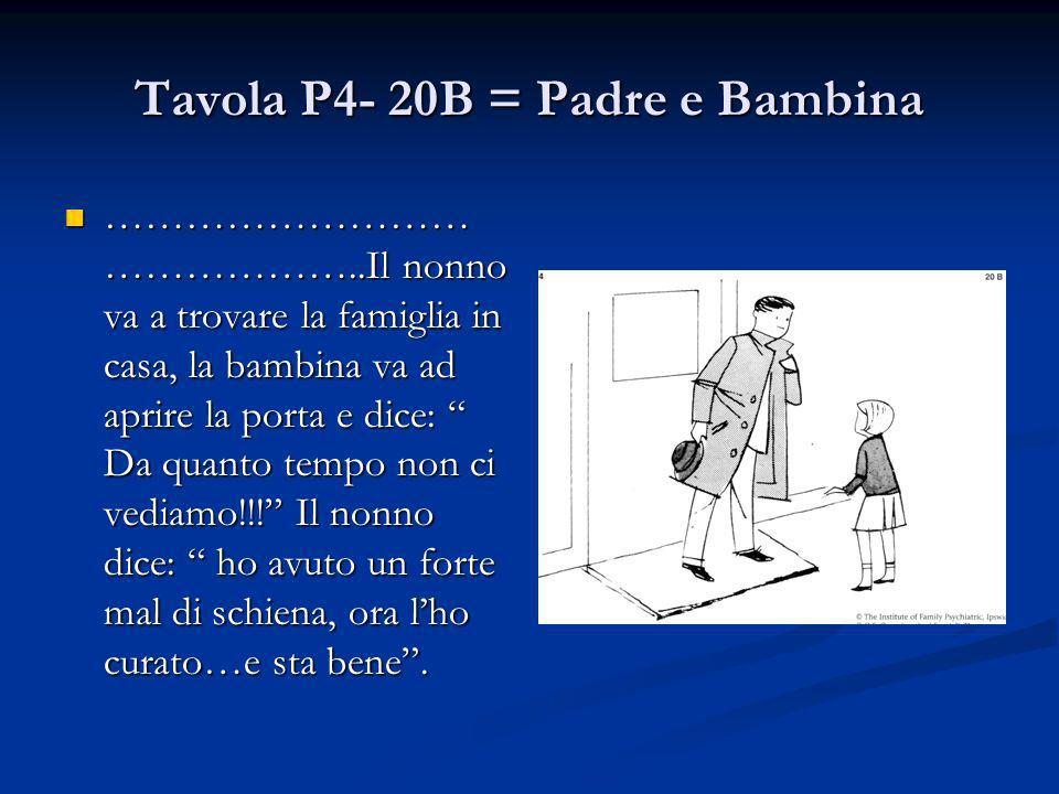 Tavola P4- 20B = Padre e Bambina