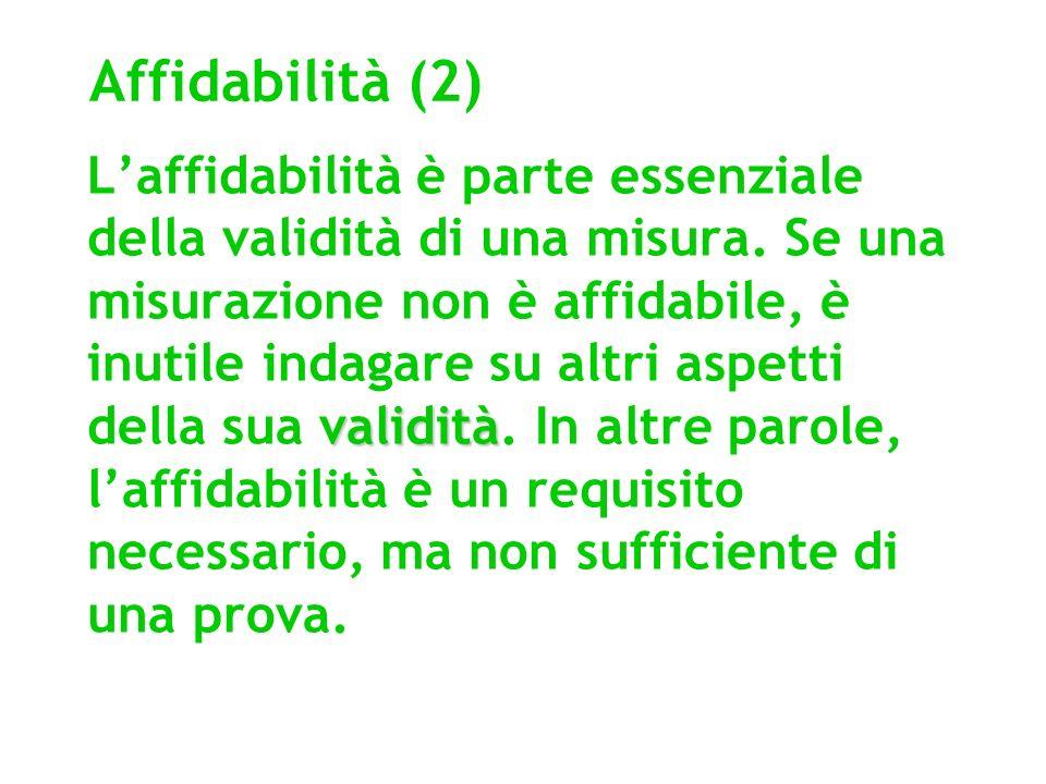 Affidabilità (2)