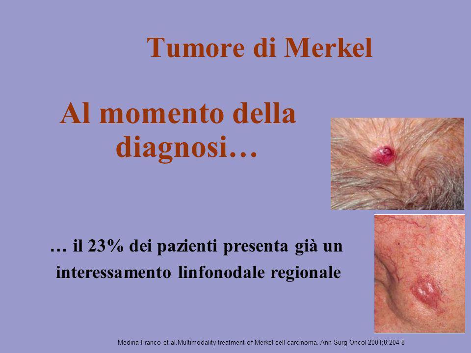 interessamento linfonodale regionale