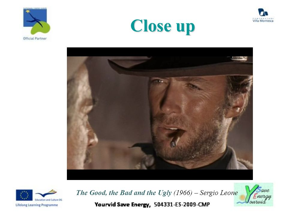 Close up The Good, the Bad and the Ugly (1966) – Sergio Leone