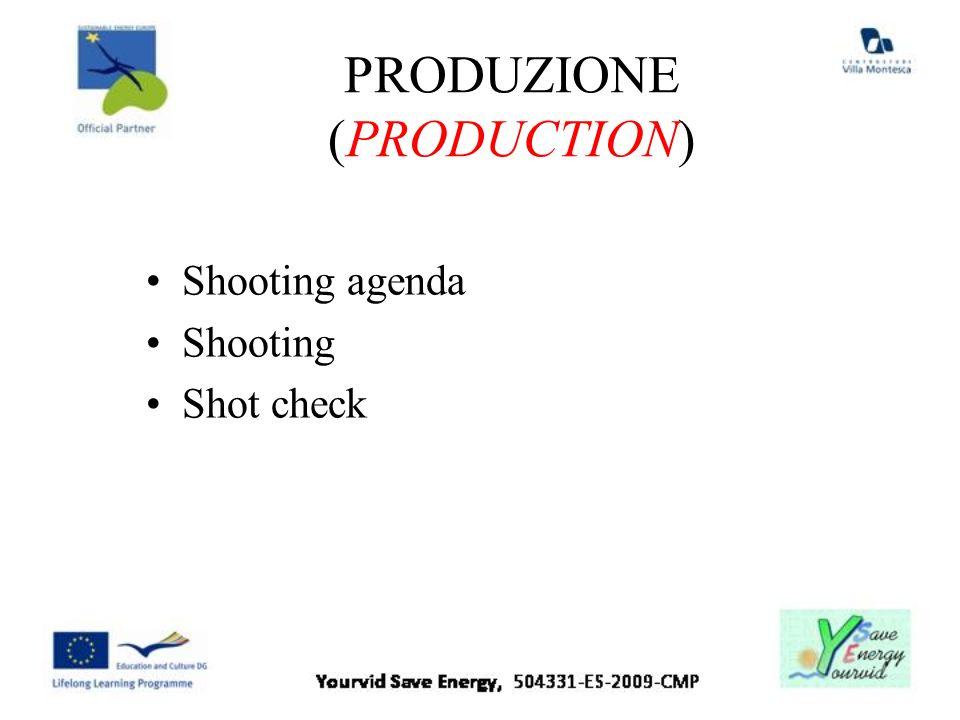 PRODUZIONE (PRODUCTION)